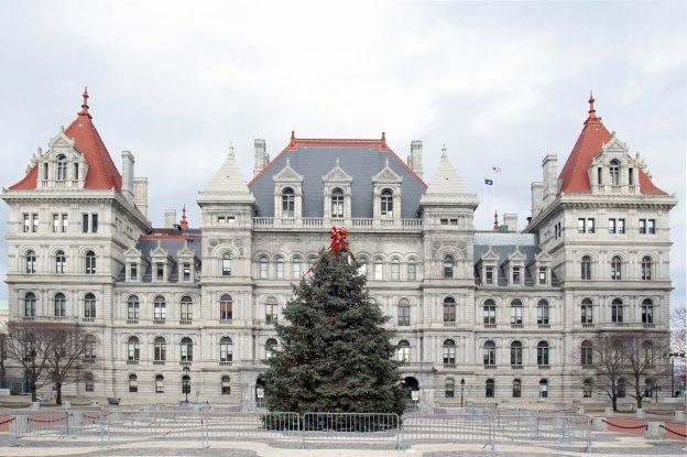 Albany at Christmas